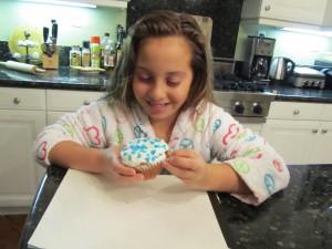 Hanukkah Cupcake Julia